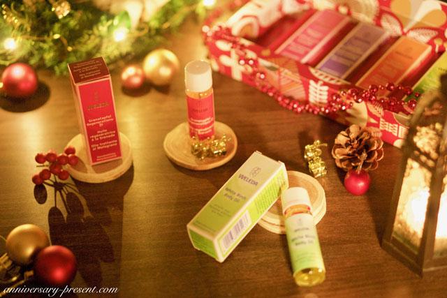 クリスマスプレゼントにおすすめ、cヴェレダ・オイルコレクション