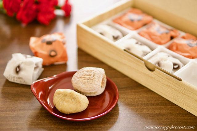 母の日のプレゼントにおすすめの和菓子