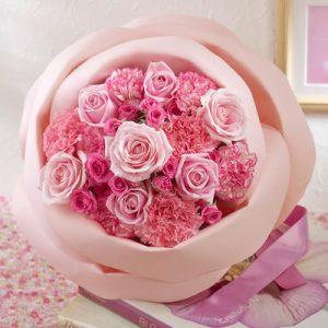 おしゃれな花ギフトにおすすめ、日比谷花壇ペタロ・ローザ