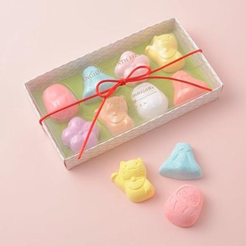 かわいい入浴剤のプレゼント