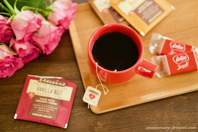ノンカフェイン、デカフェ。ティーチーノのコーヒー、ティーバッグ