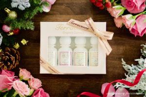 クリスマスプレゼントにおすすめ、オーガニックコスメの入浴剤ギフトセット